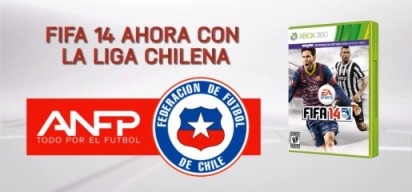 FIFA 14 Chilean league