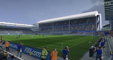 FIFA 14 Goodison Park