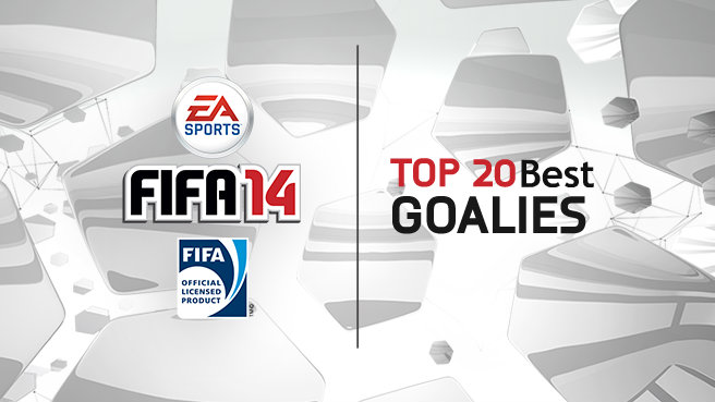 FIFA 14 Top 20 Best Keepers