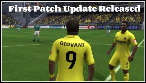 First Patch Update Released