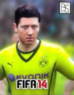 Robert Lewandowski FIFA 14