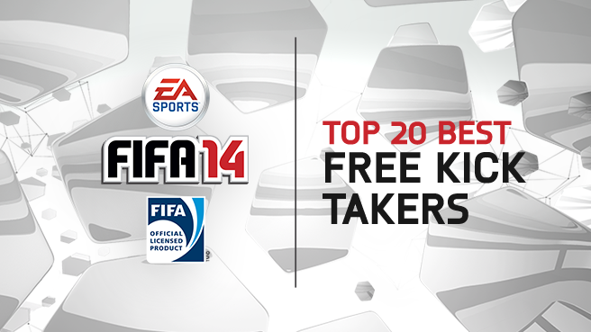Top 20 Best FK Takers FIFA 14