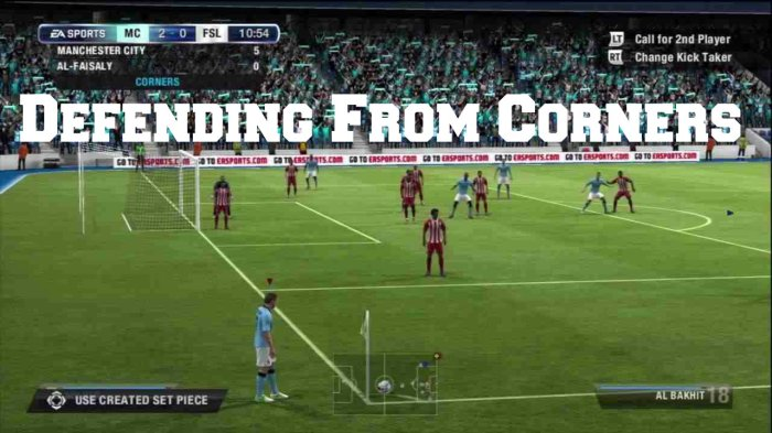 Defending From Corners