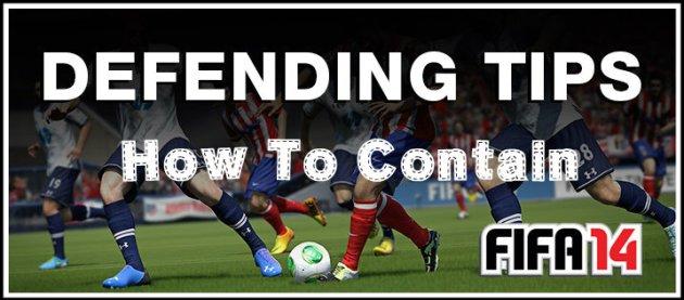FIFA 14 Contain Defending