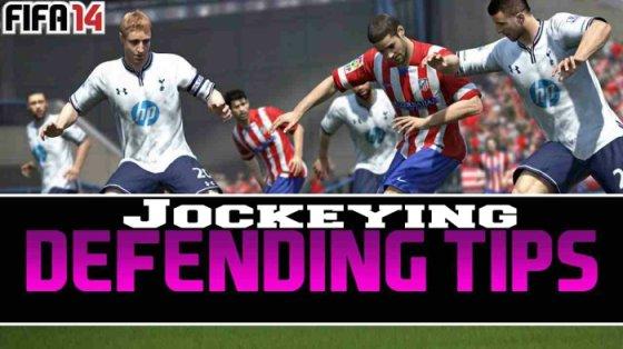 FIFA 14 Jockeying