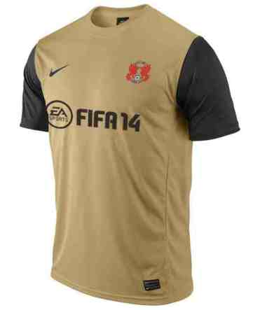 Leyton Orient Away-Kit FIFA 14