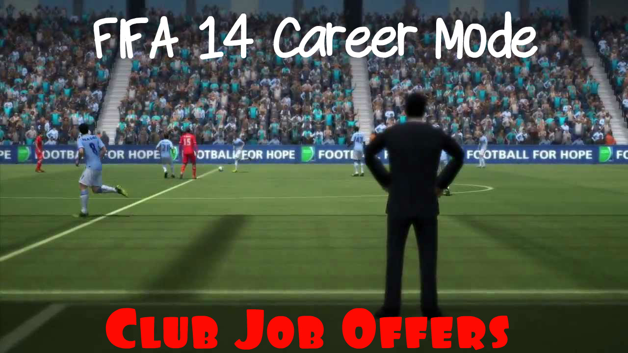 How to change management in Fifa 14