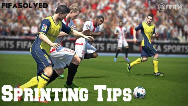 FIFA 14 Sprinting Tips