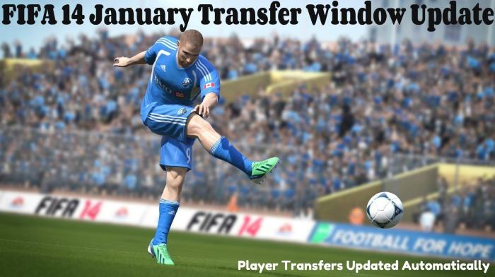 FIFA 14 January Transfer Window Update