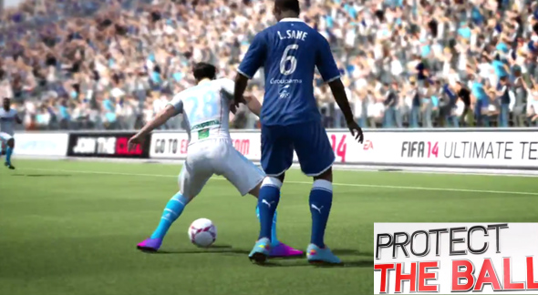 FIFA 14 Protect The Ball