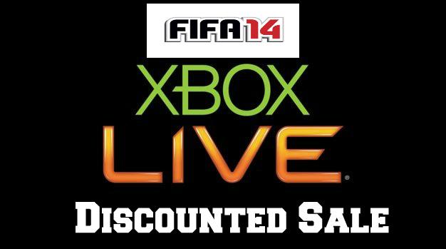 FIFA 14 Xbox Live Sale