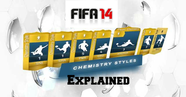 FIFA 14 Chemistry Styles Explained