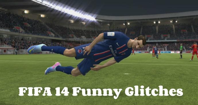 FIFA 14 Funny Glitches