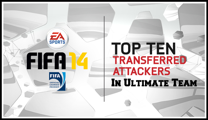 fifa 14 Top Ten Attackers