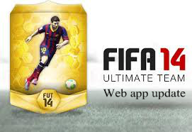 FUT 14 Web app update