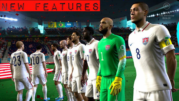 2014 FIFA World Cup Brazil New Features