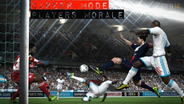 FIFA 14 Career Mode Morale