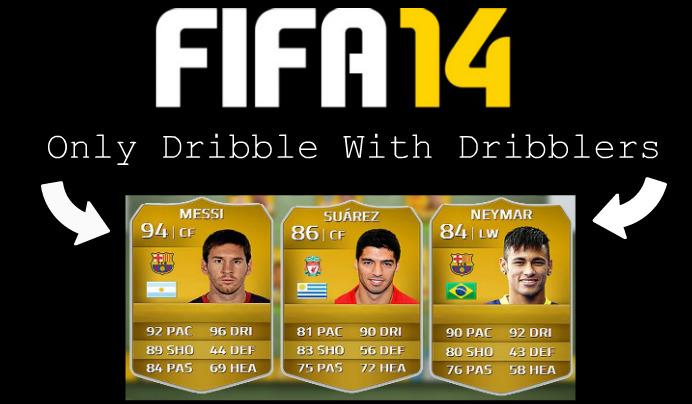 FIFA 14 Dribblers