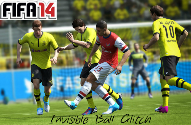 FIFA 14 Invisible Ball Glitch