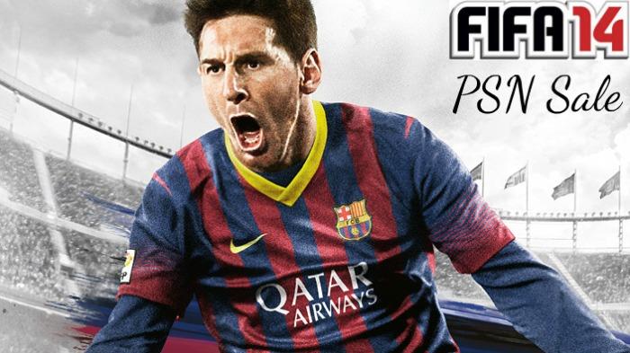 FIFA 14 PSN Sale
