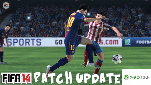 FIFA 14 Xbox One Patch Update