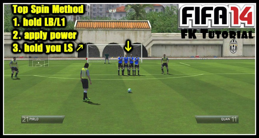 Free Kick Tutorial FIFA 14