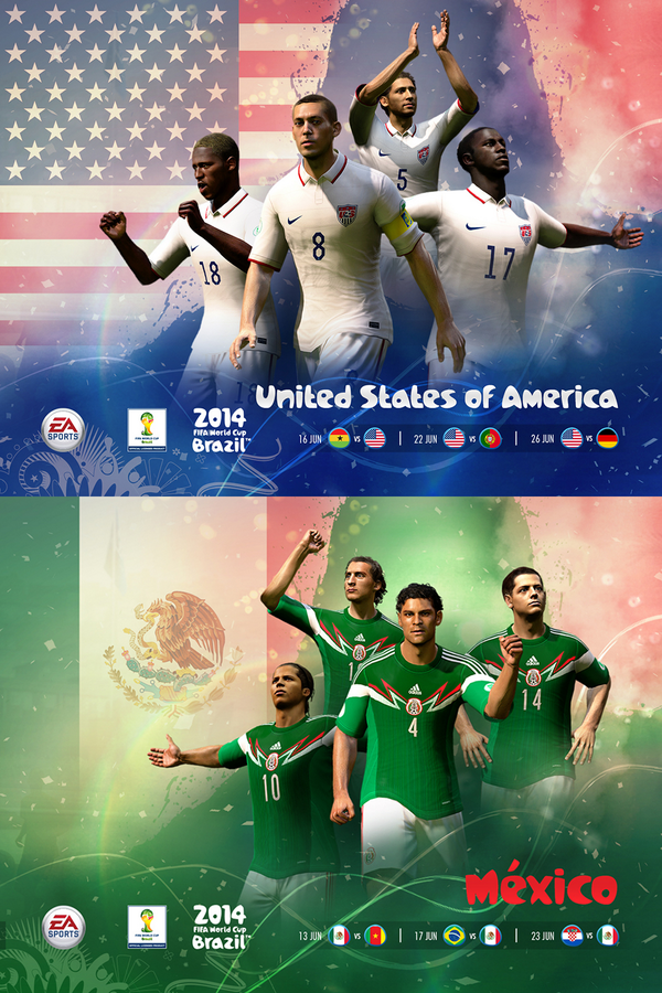 2014 FIFA World Cup Brazil Game North America