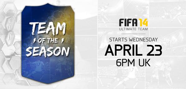 FIFA 14 TOTS