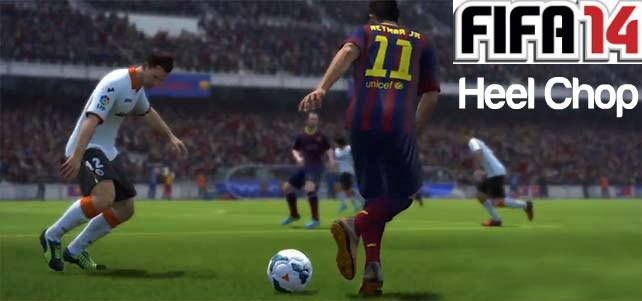 FIFA 14 Heel Chop