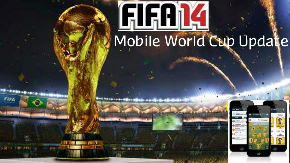 FIFA 14 Mobile World Cup Update