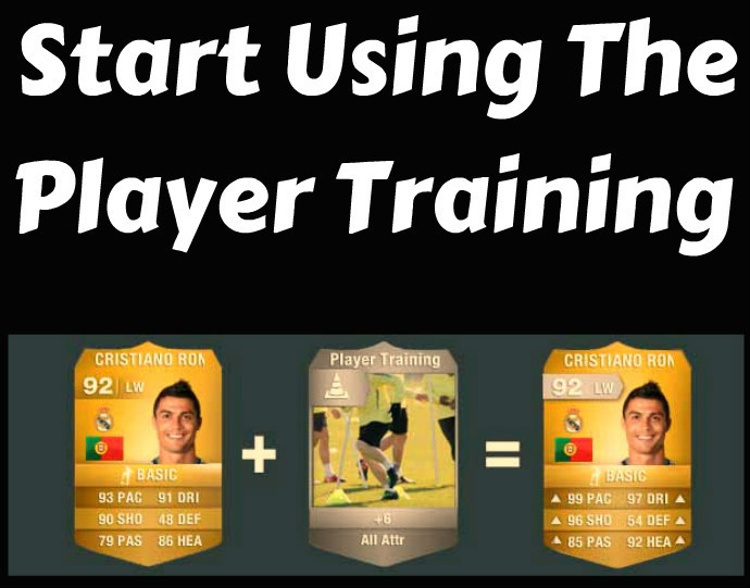 FIFA 14 Player Training