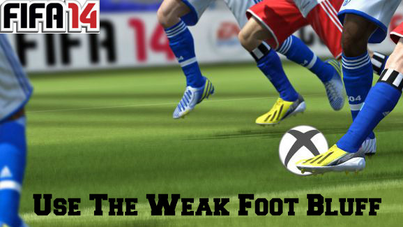 FIFA 14 Weak Foot