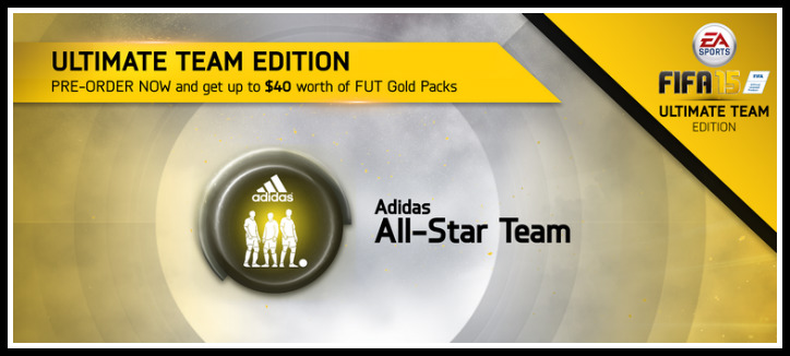 FIFA 15 Adidas All Star Team