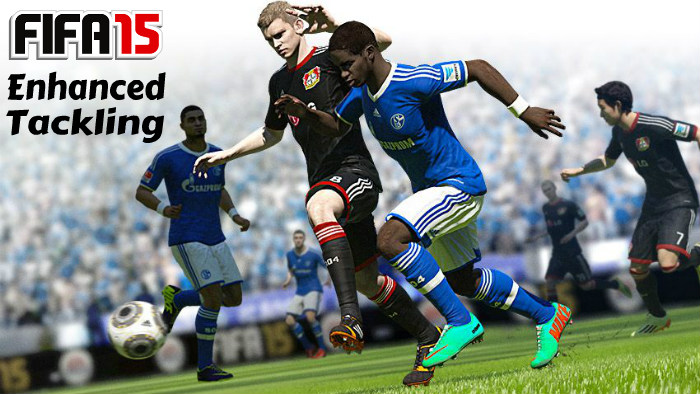 FIFA 15 Enhanced Tackling