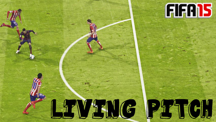 FIFA 15 Living Pitch