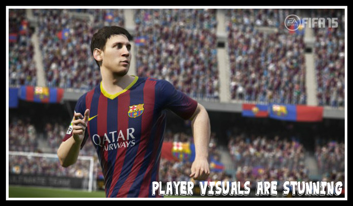 FIFA 15 Player Visuals