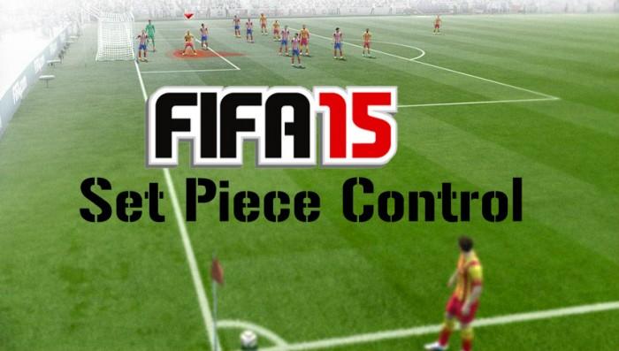 FIFA 15 Set Piece Control