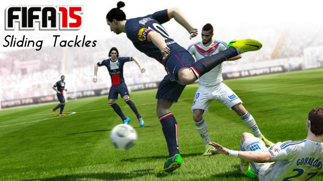 FIFA 15 Sliding Tackle