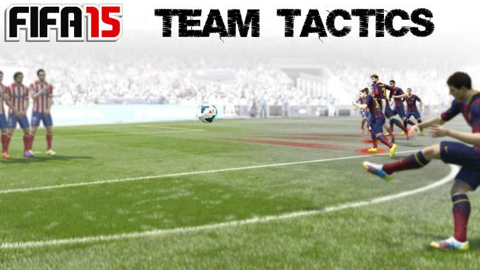 FIFA 15 Team Tactics