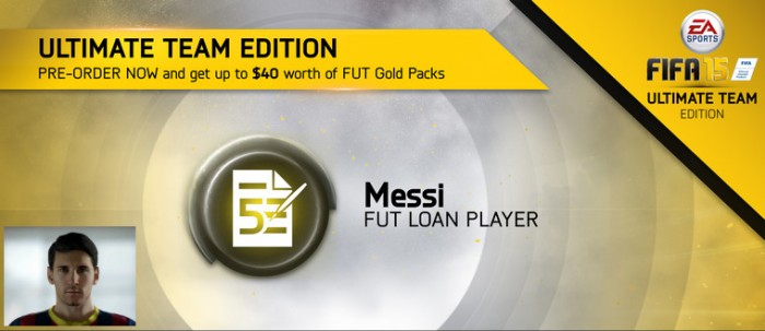 FUT 15 Messi Loan