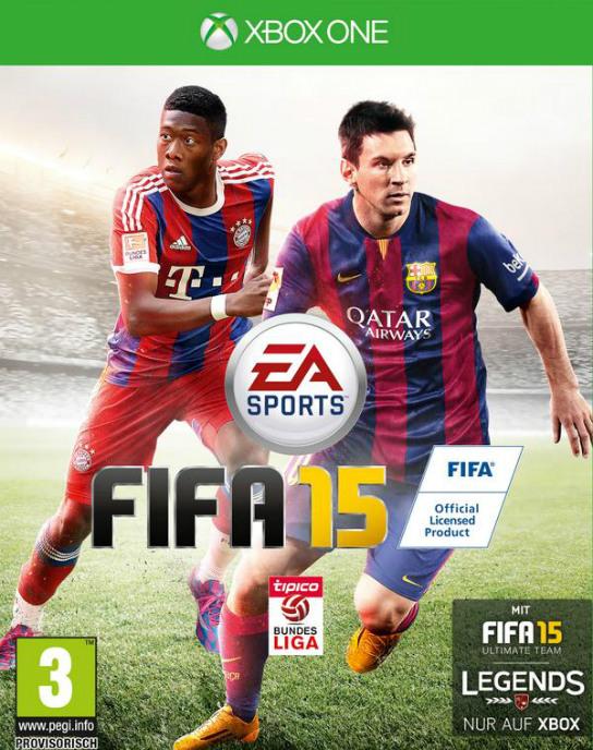 David Alaba FIFA 15 Cover