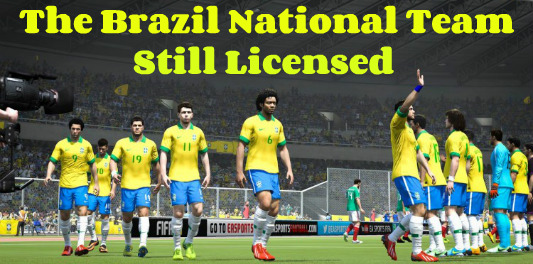 FIFA 15 Brazilian National Team