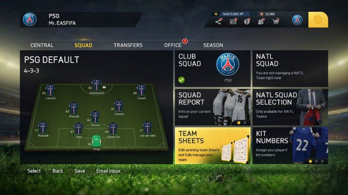 FIFA 15 Career Mode