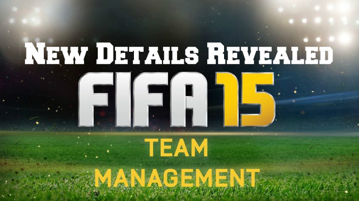 FIFA 15 Team Management