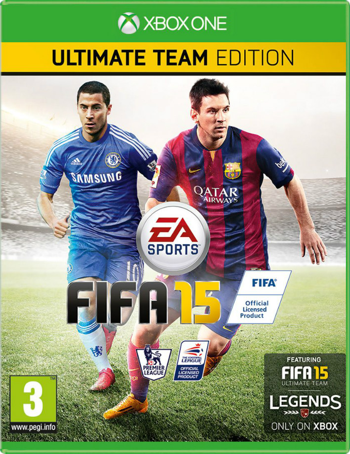 FIFA 15 UK Cover Hazard