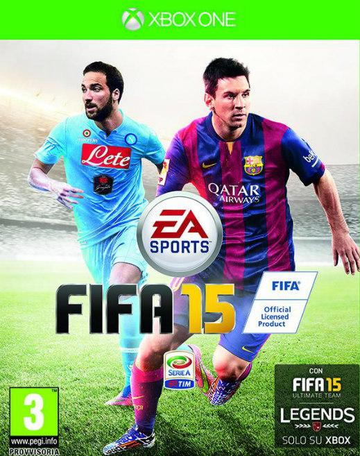 Higuaín FIFA 15 Italy Cover