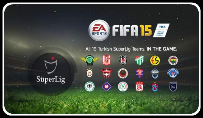 Turkish Süper Lig FIFA 15