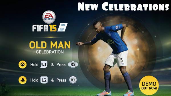 FIFA 15 Celebrations Tutorial