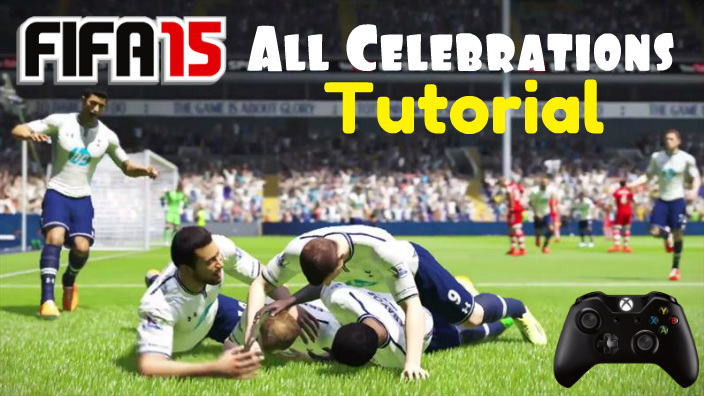 FIFA 15 Celebrations Tutorial