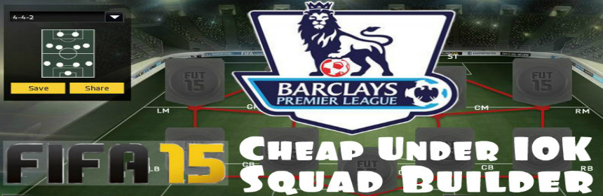 FIFA 15 Cheap BPL Squad Builder